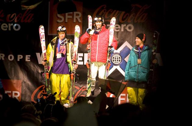 Le podium final